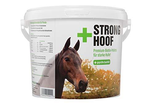 Biotine voor paarden - Helpt bij hoefproblemen bij vachtproblemen - bevordert de groei van hoefjes en de kwaliteit van de hoorn - Aanvullende voeding voor paarden - voor 200 dagen