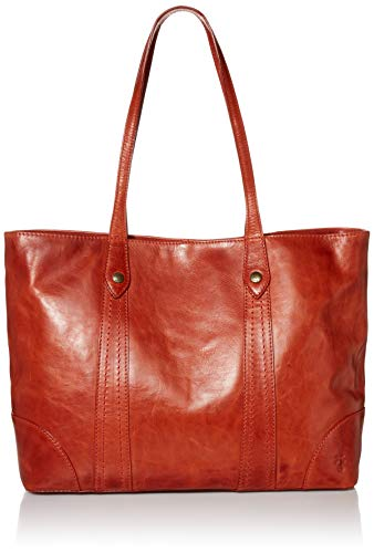 Frye Melissa Shopper Leather Tote, Burnt Orange