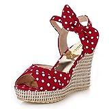 Zapatos de Vestir de Boda Antideslizantes de Fiesta Antideslizante de Verano para Mujer