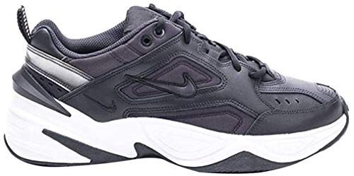 Nike W M2K TEKNO, Zapatillas de Gimnasia para Mujer, Negro (Black/Oil Grey/White 002), 36 EU