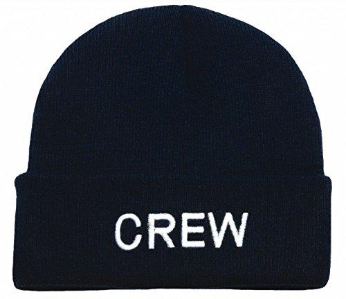 Bonnet Beanie Tricoté: Crew
