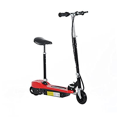 HOMCOM Electric E Scooter Ride on Battery Kids Children Toys Scooters 120W Motor 24V