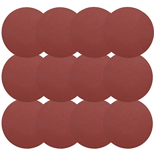 Best Price 30 Pieces 9 Inch Sandpaper, GOH DODD Hook & Loop 8-Hole Sander Sheets 60 Grits Grinding A...