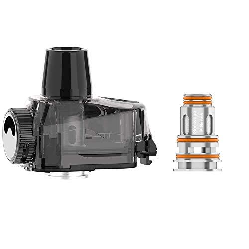 GeekVape Cartridge für Aegis Boost PRO Kit, inkl. 2 Coils für e-Zigarette, 6 ml Tankvolumen