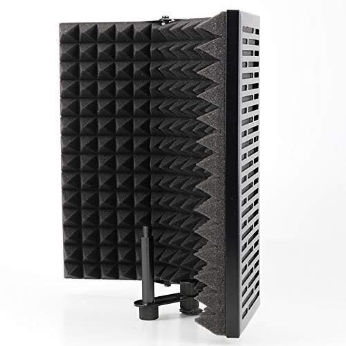Escudo de aislamiento de micrófono Studio Mic, reflector de espuma que absorbe el sonido, accesorio para micrófono