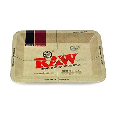 Lovelysunshiny - Vassoio Rettangolare per Piatti, 180 x 140 x 15 mm Raw