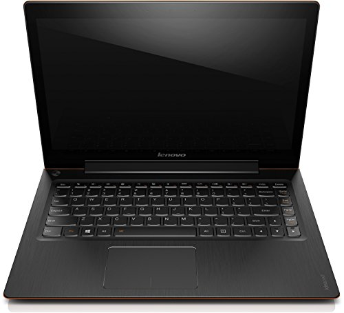 Lenovo U330Touch 33,8 cm (13,3 Zoll HD LED) Ultrabook (Intel Core i5-4210U, 2,7GHz, 8GB RAM, 256GB SSD, Intel HD Grafik, Touchscreen, Windows 8.1) orange