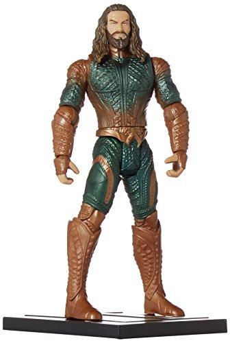 Mattel DC Comics Justice League Aquaman Logo Plates 6 Inch Figura De Acción 1