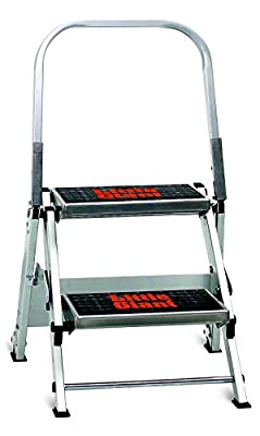 Little Giant Ladder Systems Safety Step Stepladder with Handrail