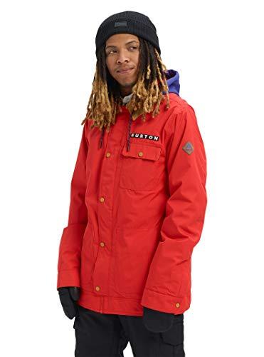 Burton Mens Dunmore Jacket, Flame Scarlet, XX-Large