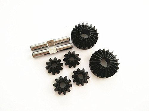 CrazyRacer Hard Steel Bevel Gear Differential for H-P-I 1/8 Savage 21 25 SS 4.6 X XL Flux 87193 86032 Upgrade Parts
