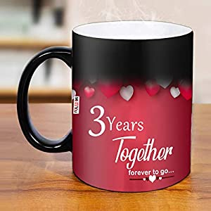 Package Contents- 1 Printed Ceramic Magic Mug Material- Ceramic With High Quality Digital Printing And Premium Quality Gloss Finished Features: Dishwasher Safe, Microwave And Oven Safe, Freezer Safe, Non Toxic, Bpa Free, Environment Friendly, Reusabl...