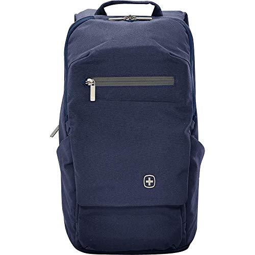 WENGER SkyPort 16' Laptop Zip Shoulder Strap Polyester Backpack - Blue