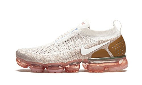 Nike Air Vapormax Flyknit Moc 2 Unisex Shoes Sail/Anthracite-Sand-Wheat ah7006-100 (10.5 D(M) US)