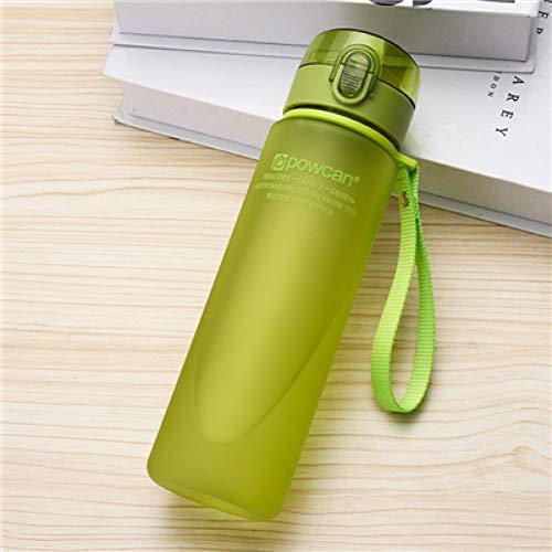 Haidun 400/560Ml Bpa Gratis Lek Bewijs Sport Water Fles Eiwit Shaker Draagbare Motion Water Fles Gratis Plastic Camping Wandelen Fles 560ML,A