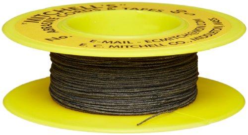 Mitchell Abrasives 60-S Round Abrasive Cord, Silicon Carbide 200 Grit .015' Diameter x 50 Feet
