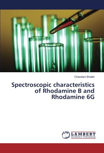 Spectroscopic characteristics of Rhodamine B and Rhodamine 6G