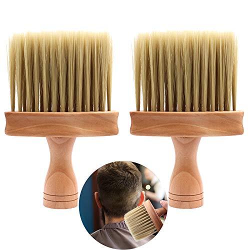 Cepillo De Peluquería Para Cuello Cepillo De Cuello Profesional Cepillo De Peluquero Cepillo De Cuello 2Pcs Cepillo De Limpieza Para Cabello Peluquero Cepillo De Pelo Peluquero Para Peluquería Salón