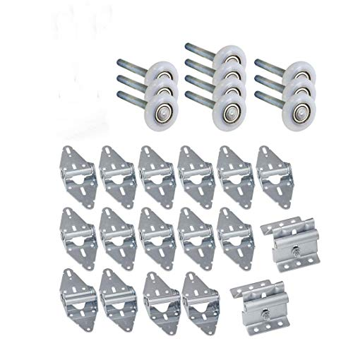 Learn More About Heavy Duty - 12x9 or 10x9 - Rollers, Hinges, Brackets Garage Door Hardware Kit
