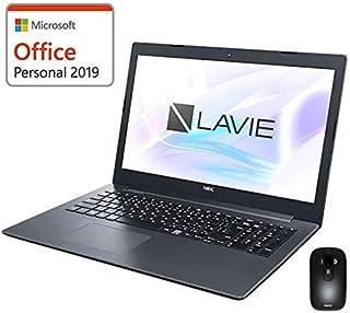 【MS Office搭載】NEC LAVIE Smart NS(A) Windows10 Home 64bit AMD E2-9000 8GB 500GB DVDスーパーマルチ 高速無線LAN IEEE802.11ac/a/b/g/n Bluetooth webカメラ USB3.0 HDMI SDカードスロット 10キー付日本語キーボード 15.6型LED液晶ノートパソコン Bluetoohマウス標準添付 (Microsoft Office Personal 搭載)