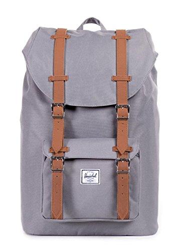 Herschel Supply Little America Mid Volume Backpack - 885cu in Grey, One Size