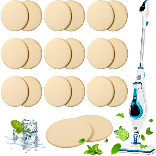 1806 and 1132 Maitys 24 Pieces Replacement Steam Mop Scent Discs 6 Different Fresh Fragrance Scented Pad Compatible with Bissell Powerfresh and Symphony Series Fits Model 1940