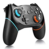 Wireless Pro Controller Compatible with Switch, YCCTEAM Remote Gamepad Pro Controller with Gyro Axis, Turbo and Adjustable Dual Shock