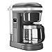 KitchenAid KCM1208DG Spiral Showerhead 12 Cup Drip Coffee Maker, Matte Charcoal Grey (Renewed)