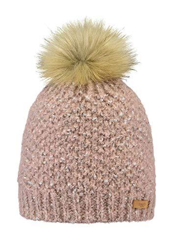 Barts W Fleabane Beanie Pink, Damen Kopfbedeckung, Größe One Size - Farbe Pink