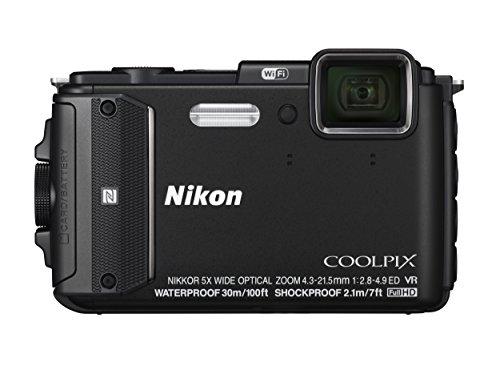 Nikon Coolpix AW130 - Cámara compacta de 16 MP (Pantalla de 3', Zoom óptico 5X,...