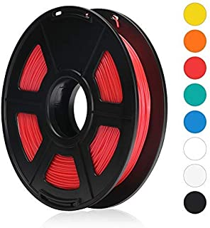 TRIGORILLA ANYCUBIC TPU Flexible Filament 1.75mm for 3D Printer 500g Spool Dimensional Accuracy +/-0.02mm, Red
