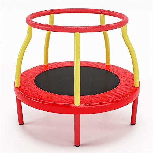 Trampolin Brincolin para Niños y adultos 48 pulgadas de interior mini trampolín for los niños, Jumpking Trampolín con cojín de la seguridad del recinto neto, trampolines recreativas for niños, Max pes
