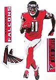 Julio Jones FATHEAD TEAMMATE Atlanta Falcons Logo Set Official NFL Vinyl Graphics 17' INCH