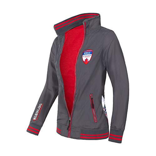 Nebulus Damen Windbreaker Nordfjord, Jacke mit Logo Patches