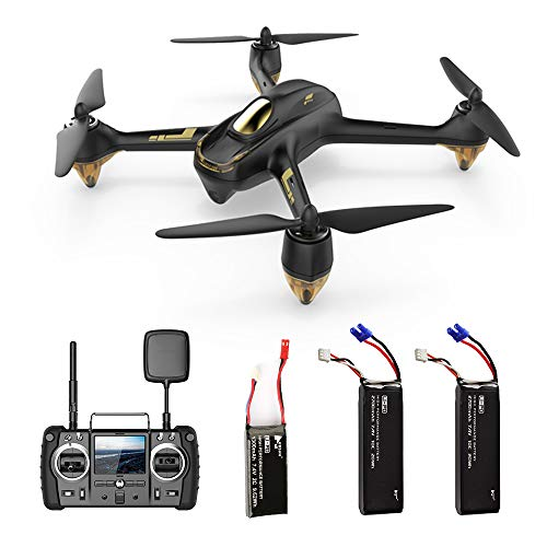 HUBSAN H501SS X4 Pro GPS Drone with 1080P HD Camera 5.8G FPV 6-Axis Gyro 4 Channel RC Quadcopter, Brushless Motor Auto Return Home, Two Batteries