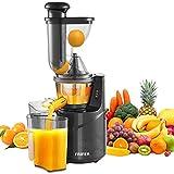 Licuadora Slow Juicer, licuadora de frutas y verduras con motor...