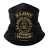 Us Army Veteran Neck Gaiter Tube Mask Headwear Balaclava Motorcycle Face-Mask Face Scarf Black