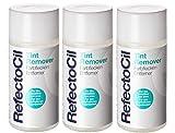 3er Refectocil Tint Remover Farbflecken Entferner für Augenbrauen und Wimpernfarbe 150 ml