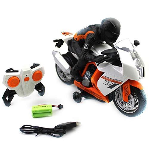 myonly kleinkind kinder jungen mädchen fernbedienung spielzeug motorrad auto spielzeugauto spielzeug mit licht und musik rotierenden kinder elektroauto spielzeug