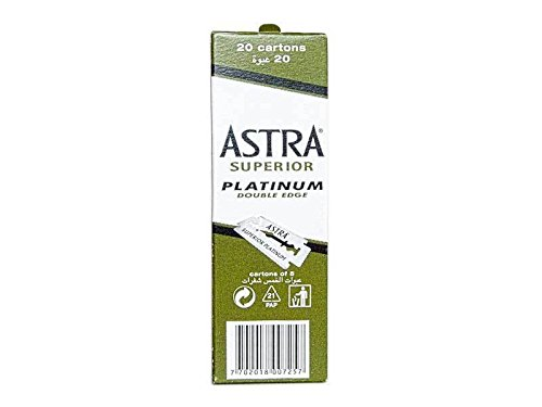 ASTRA Hojas de afeitar [paquete de 200]
