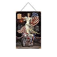 あなたの権利のために戦う木製のリストプラーク木の看板ぶら下げ木製絵画パーソナライズされた広告ヴィンテージウォールサイン装飾ポスターアートサイン