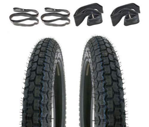 Kreidler Florett RS RM K54 K 54 Reifen Schlauch Satz 2 3/4 x 17 Zoll