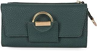 Baggit Women's Synthetic Wallet (Green) (Barbara Y G X)
