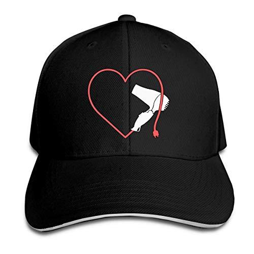 Mashro schattige haarstylist hart, golfhoed, baseballcap