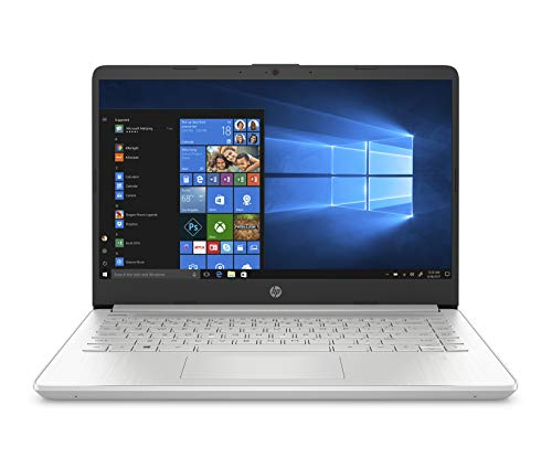 HP-PC 14s-dq1006nl Notebook, Intel Core  i5-1035G1, RAM 8 GB, SSD 512 GB, Grafica UHD Intel, Windows 10 Home, Schermo 14' FHD Antiriflesso, Lettore Impronte Digitali, USB-C, Lettore Micro SD, Argento