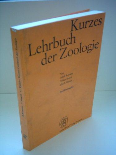 Adolf Remane: Kurzes Lehrbuch der Zoologie