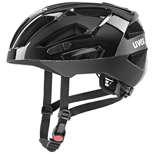 Uvex Gravel-x Casco de Bicicleta, Unisex Adulto, All Black, 56-61 cm