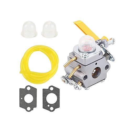 SGHKKL Carburador C1U-H60 para 25cc 26cc 30cc Ryobi Homelite String Pruner RY28100 RY28120 RY28121 RY28140 con Herramienta de Ajuste