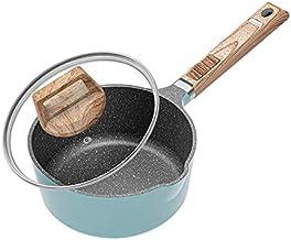 WZWHJ Household Non-stick Milk Pan Multifunctional Baby Baby Food Supplement Porridge Universal Breakfast Pan
