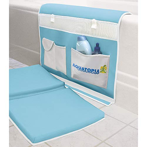 AQUATOPIA, Safety Bath-Time Cushioned Easy Kneeler & Detachable Elbow...